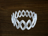 Turk's Head Knot Ring 2 Part X 15 Bight - Size 21 3d printed