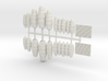 SET 2x Garden fencing (N 1:160) 3d printed