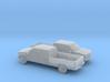 1/160 2X 1990 Chevrolet Silverado Crew Cab Long Be 3d printed