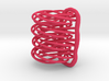 Looped Spiral Earrings 3d printed