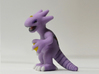 Pokefusion - Arbduck 3d printed Full Color Sandstone, side-view