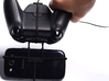 Xbox One controller & chat & XOLO Black 3GB - Fron 3d printed In hand - A Samsung Galaxy S3 and a black Xbox One controller & chat