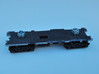 CNSM 455 - 456 Under Frame Trucks 3d printed Under frame and trucks, on this model the sides have had to be filed slightly, future models should fit without any work.