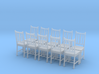 Wooden Chair Set of 10 3d printed