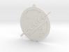 Boba Fett Mandalorian Ornament 3d printed