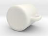 Dollhouse coffee mug 3d printed