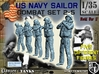 1-35 US Navy Sailors Combat SET 2-5 3d printed