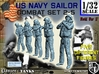 1-32 US Navy Sailors Combat SET 2-5 3d printed
