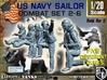 1-20 US Navy Sailors Combat SET 2-6 3d printed