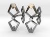 HEAD TO HEAD, Bend Cufflinks 3d printed