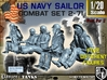 1-20 US Navy Sailors Combat SET 2-71 3d printed