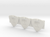 test guitar picks style 0001 1.4mm engrave 3x 3d printed