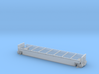 HO 1/87 Boeing 777 Canopy Railroad Car - Body 3d printed