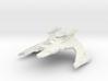"""Jem'Hadar Cruiser  4.6"""" 3d printed"""