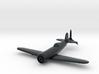 1/144 IAR 80 Romanian WW2 Fighter 3d printed
