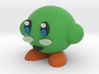 Green Kirby 3d printed