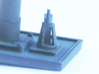 MR Water Column Control Valve (x4) 4mm Scale 3d printed Valve installed on the column base