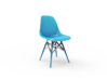 Eames Molded Shell Side Chair  3d printed