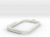 Rebar keychain 3d printed