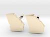 Georgia State Earrings, post style 3d printed
