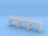 (1:450) Triple Arch Single Track 60mm Bridge 3d printed