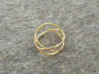 Three Circles Ring 3d printed