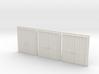 Door Type 9 - 810D X 2000 X 3 - HO Scale 3d printed
