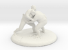 Sumo Oomph - Table Top Sculpture 3d printed