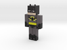 Minecraft Batman Figurine 3d printed