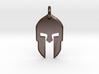 Spartan Helmet Pendant/Keychain 3d printed