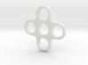 Quad EDC Fidget Spinner 3d printed