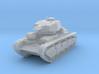 PV111C Pzkw NbFz VI w/separate MG turrets (1/100) 3d printed