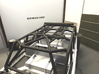 Axial JK 4dr Roof Kit 3d printed Rear view of Roof with Light bar