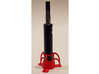 The Rocket e-cig Stand 25mm Type 2 3d printed Red Strong & Flexible Polished (e-cigarette not included).