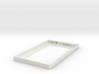 Wall Frame for Amazon Kindle Fire 7 3d printed White