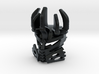 Kanohi Mataidentoka 3d printed BEWARE: This material uses support structures which can obstruct details or vital parts.