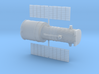 012E Hubble Partially Deployed - 1/288 3d printed