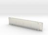 HO 1/87 railroad gondola hood #4 (170mm x 37mm) 3d printed