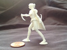 Drow Assassin 3d printed an example of this miniature in white plastic
