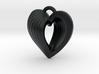 Heart Shell Pendant 3d printed
