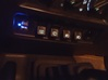 97-01 Jeep Cherokee XJ Police Package Switch Panel 3d printed