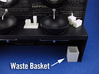 Bath Wastebin 1:12 scale 3d printed
