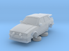 Ford Escort Mk3 1-76 2 Door Rs Turbo Whale Tail 3d printed