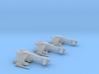 3 pack Vaksai Starfighter S1 Variant 1/270 3d printed