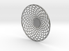 Organic Pendant-hidden Bail 3d printed