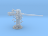 1/96 USN 3 inch 50 [7.62 Cm] Cal. Deck Gun 3d printed