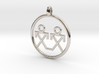 Brothers Symbols Native American Jewelry Pendant 3d printed