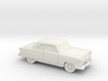 1/87 1952 Ford Crestline Coupe 3d printed