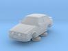 Ford Escort Mk4 1-87 2 Door Rs Turbo Hollow (repai 3d printed