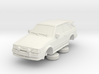 Ford Escort Mk4 1-76 2 Door Rs Turbo Wale Tail Hol 3d printed